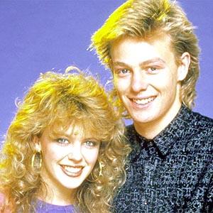 Kylie Minogue und Jason Donovan