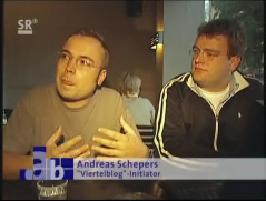 Andreas und Thomas im Fernsehen :)