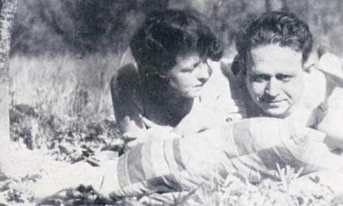 Tucholsky und Lisa Matthias