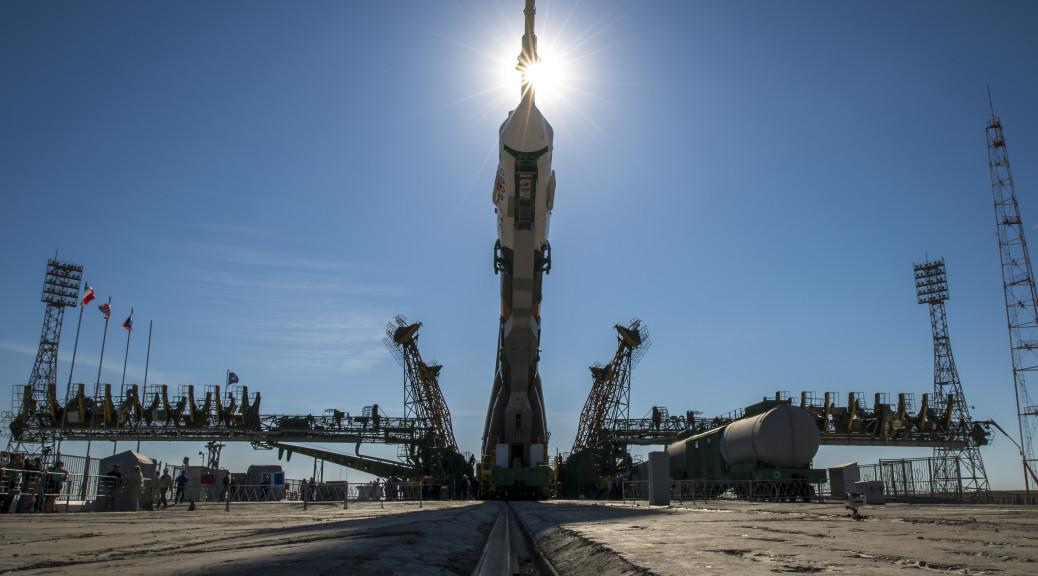 Kosmodrom Baikonur. Bild: ESA